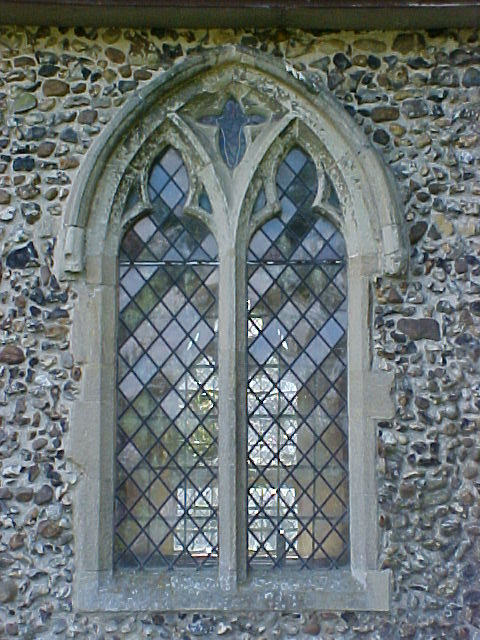 Outside View Of The North Chancel Window